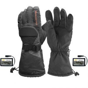 Verwarmde motorhandschoenen met accu